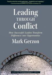 Cover of: Leading through conflict