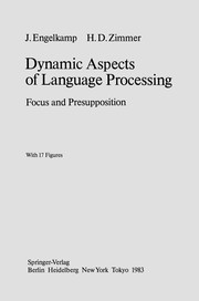 Cover of: Dynamic Aspects of Language Processing