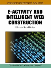 Cover of: E-activity and intelligent web construction | Tokuro Matsuo