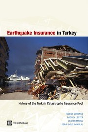 Cover of: Earthquake insurance in Turkey |