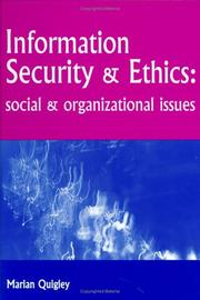 Cover of: Information Security and Ethics | Marian Quigley
