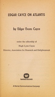 Cover of: E Cayce Atlant | Edg Cayce