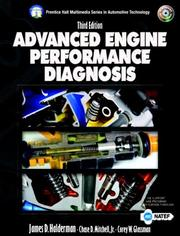 Cover of: Advanced engine performance diagnosis