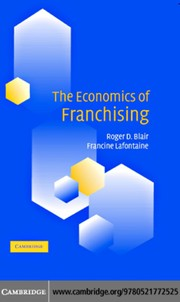 Cover of: The economics of franchising | Roger D. Blair