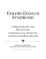 Cover of: Ehlers-Danlos syndrome | James N. Parker