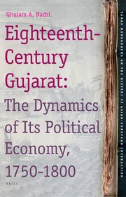 Cover of: Eighteenth-century Gujarat | Ghulam A. Nadri