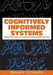Cover of: Cognitively Informed Systems | Eshaa M. Alkhalifa
