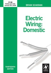 Electric wiring: domestic