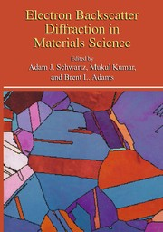 Cover of: Electron Backscatter Diffraction in Materials Science | Adam J. Schwartz