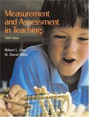 Measurement and assessment in teaching by Robert L. Linn