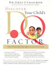 Cover of: Discover your child's DQ factor
