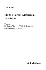 Cover of: Elliptic Partial Differential Equations | Vitaly A. Volpert