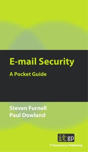 Cover of: E-mail Security | Steven Furnell