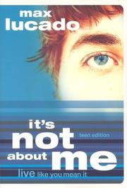 Cover of: It's Not About Me