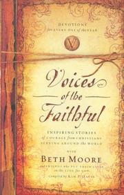 Cover of: Voices of the faithful | Beth Moore