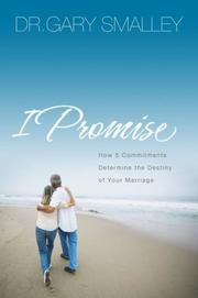 Cover of: I Promise