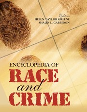 Cover of: Encyclopedia of race and crime