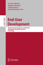 Cover of: End-User Development | Yvonne Dittrich