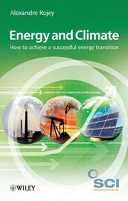 Cover of: Energy & climate | Alexandre Rojey