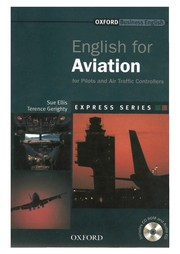 Cover of: English for aviation | Sue Ellis