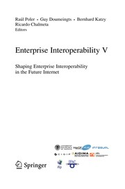 Cover of: Enterprise Interoperability V | RaГєl Poler