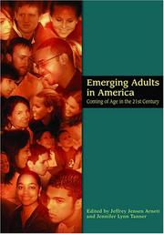Cover of: Emerging Adults in America |