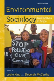Cover of: Environmental sociology |