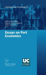 Cover of: Essays on port economics | Pablo Coto-MillГЎn
