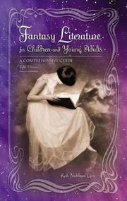 Cover of: Fantasy literature for children and young adults by Ruth Nadelman Lynn