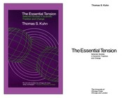 Cover of: The essential tension | Thomas S. Kuhn