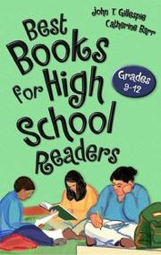 Cover of: Best books for high school readers | John Thomas Gillespie