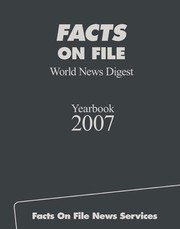 Cover of: Facts on file world news digest yearbook | Jonathan Taylor