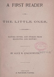 Cover of: The first reader for the little ones