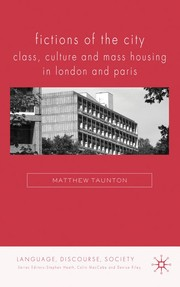 Cover of: Fictions of the city | Matthew Taunton