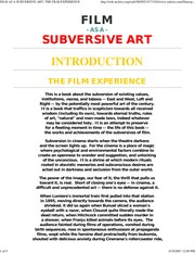 Cover of: Film as a subversive art | Amos Vogel