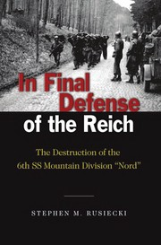 Cover of: In final defense of the Reich | Stephen M. Rusiecki
