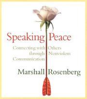 Cover of: Speaking Peace