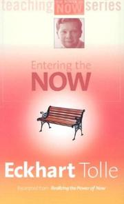 Cover of: Entering the Now (Power of Now)