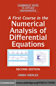 Cover of: A first course in the numerical analysis of differential equations | A. Iserles