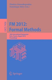 FM 2012: Formal Methods