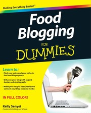 Cover of: Food blogging for dummies | Kelly Senyei