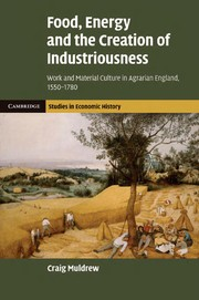 Cover of: Food, energy and the creation of industriousness | Craig Muldrew