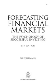 Cover of: Forecasting financial markets | Tony Plummer