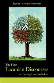 Cover of: The four Lacanian discourses, or, Turning law inside-out