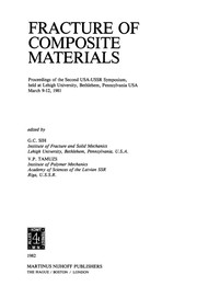 Cover of: Fracture of Composite Materials | G. C. Sih