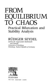 Cover of: From equilibrium to chaos | R. Seydel