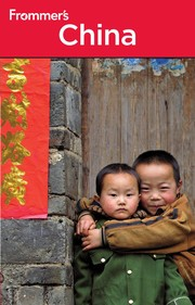 Cover of: Frommer's China [2010] |