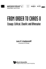 Cover of: From order to chaos II