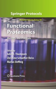 Cover of: Functional proteomics |