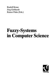 Cover of: Fuzzy systems in computer science |